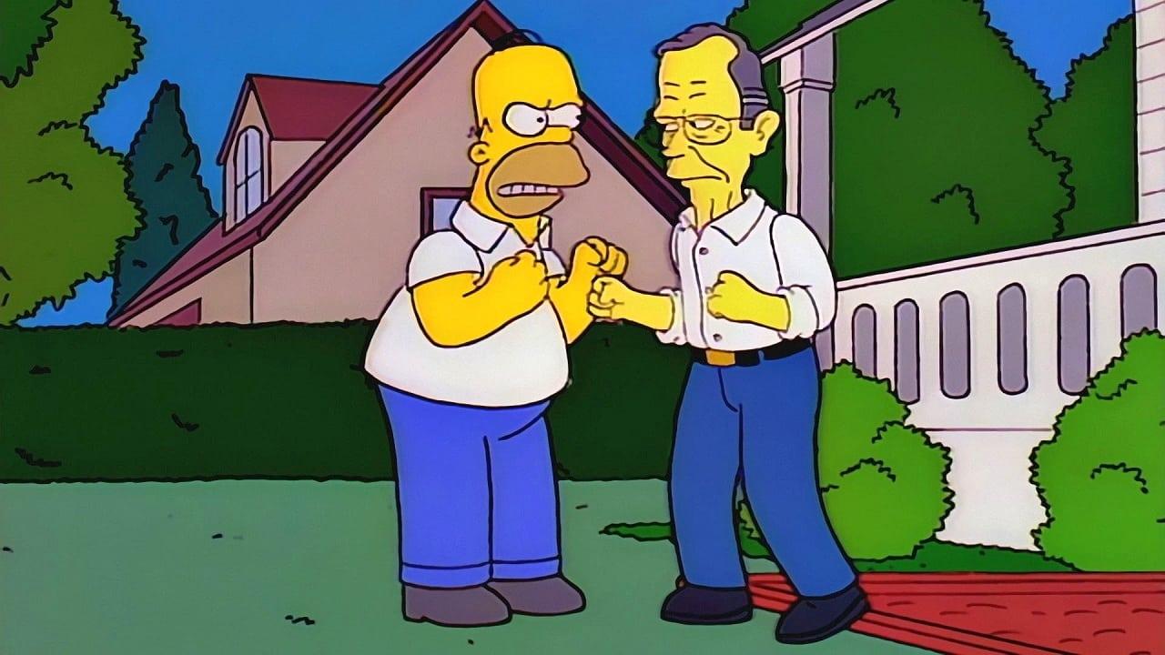 The Simpsons Season 7 :Episode 13  Two Bad Neighbors