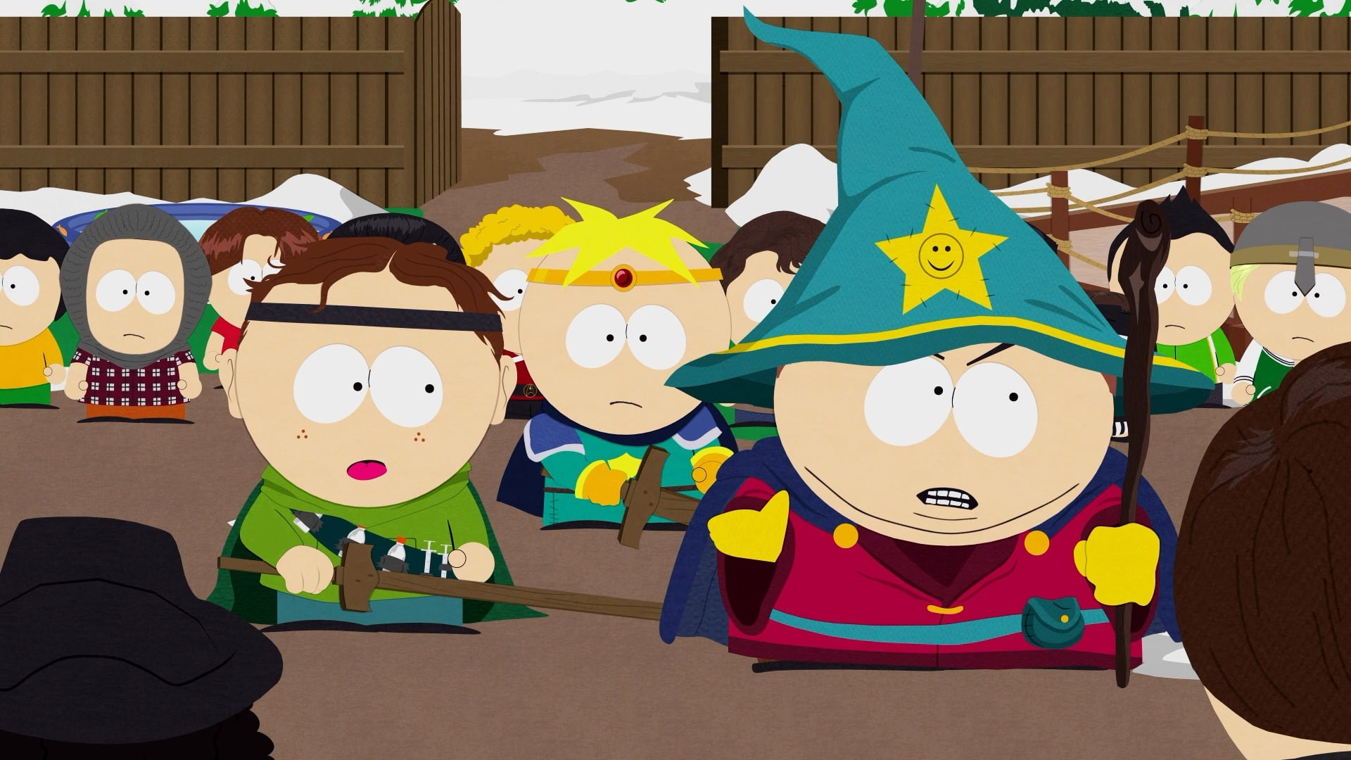 Old fashioned south park 91