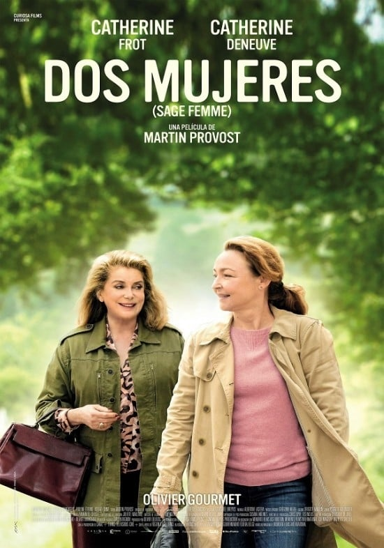 Póster Dos mujeres