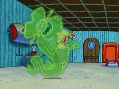 SpongeBob SquarePants Season 4 :Episode 18  Ghost Host