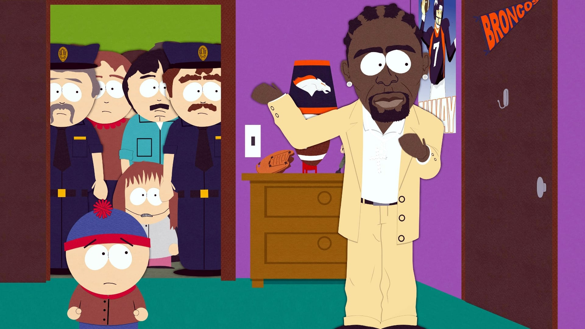 South Park Season 9 :Episode 12  Trapped in the Closet