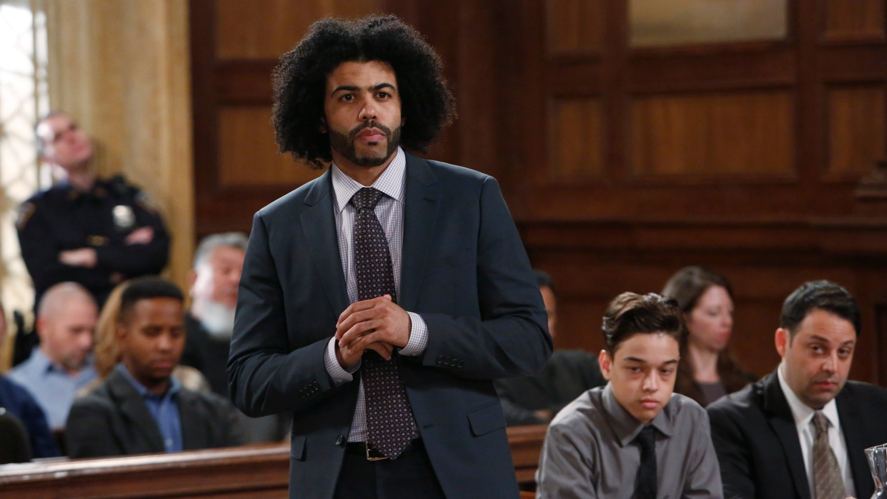 Law & Order: Special Victims Unit - Season 17 Episode 13 : Forty-One Witnesses