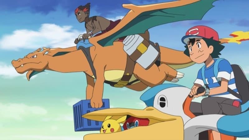 Pokémon Season 20 :Episode 11  Young Kiawe Had a Farm!