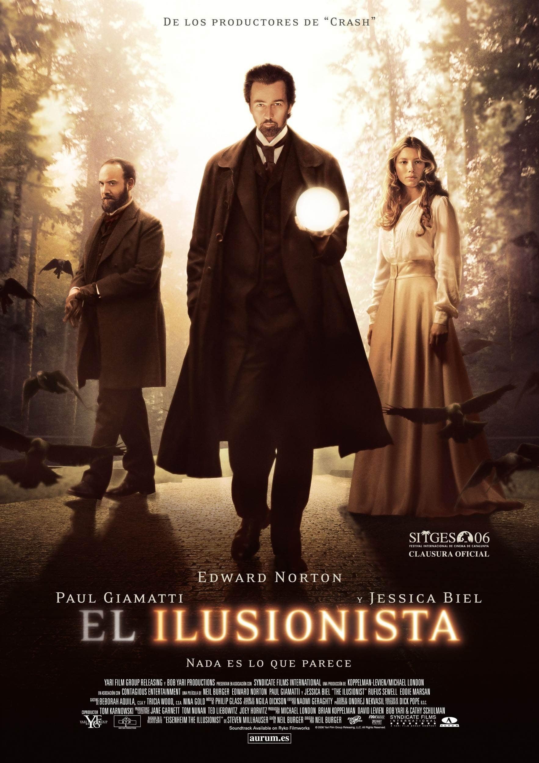 Póster El ilusionista