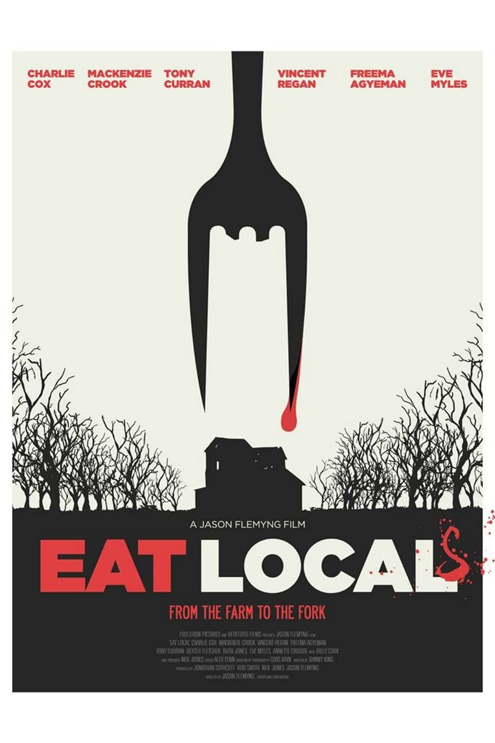 Póster Eat Local