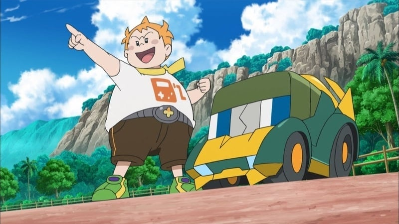 Pokémon Season 20 :Episode 41  Mounting an Electrifying Charge!