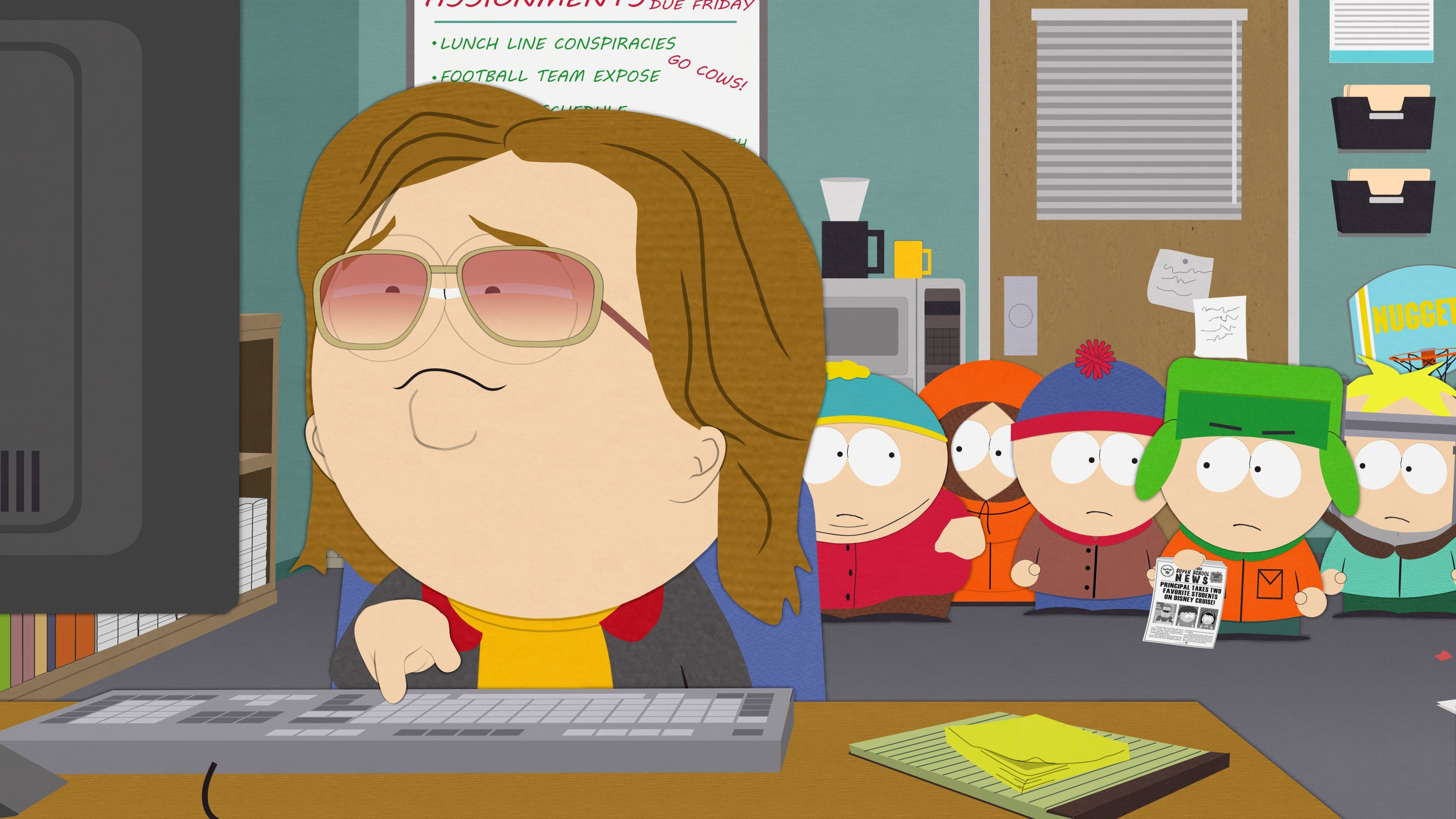South Park Season 19 :Episode 9  Truth and Advertising