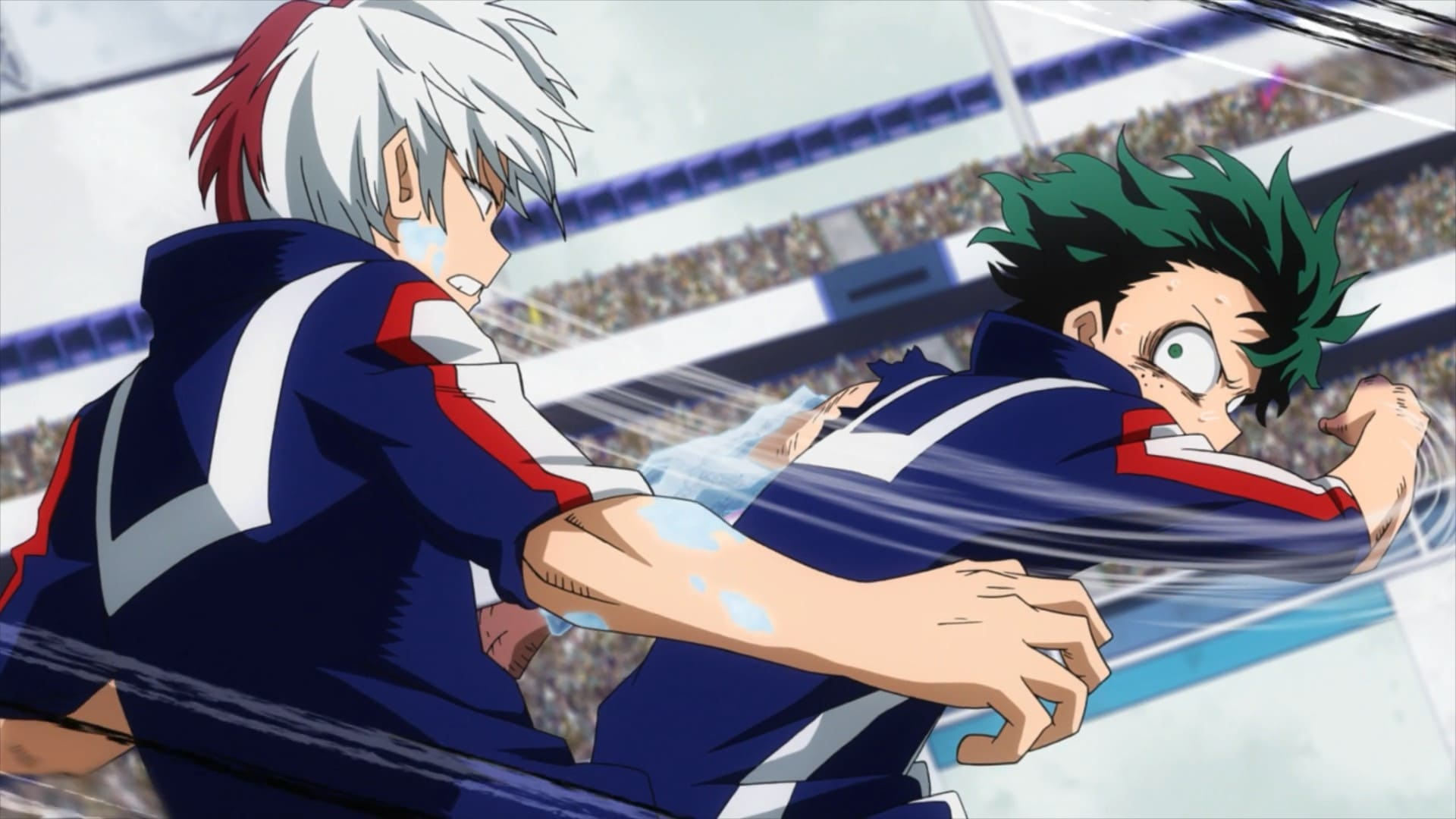 My Hero Academia Season 2 :Episode 10  Shoto Todoroki: Origin
