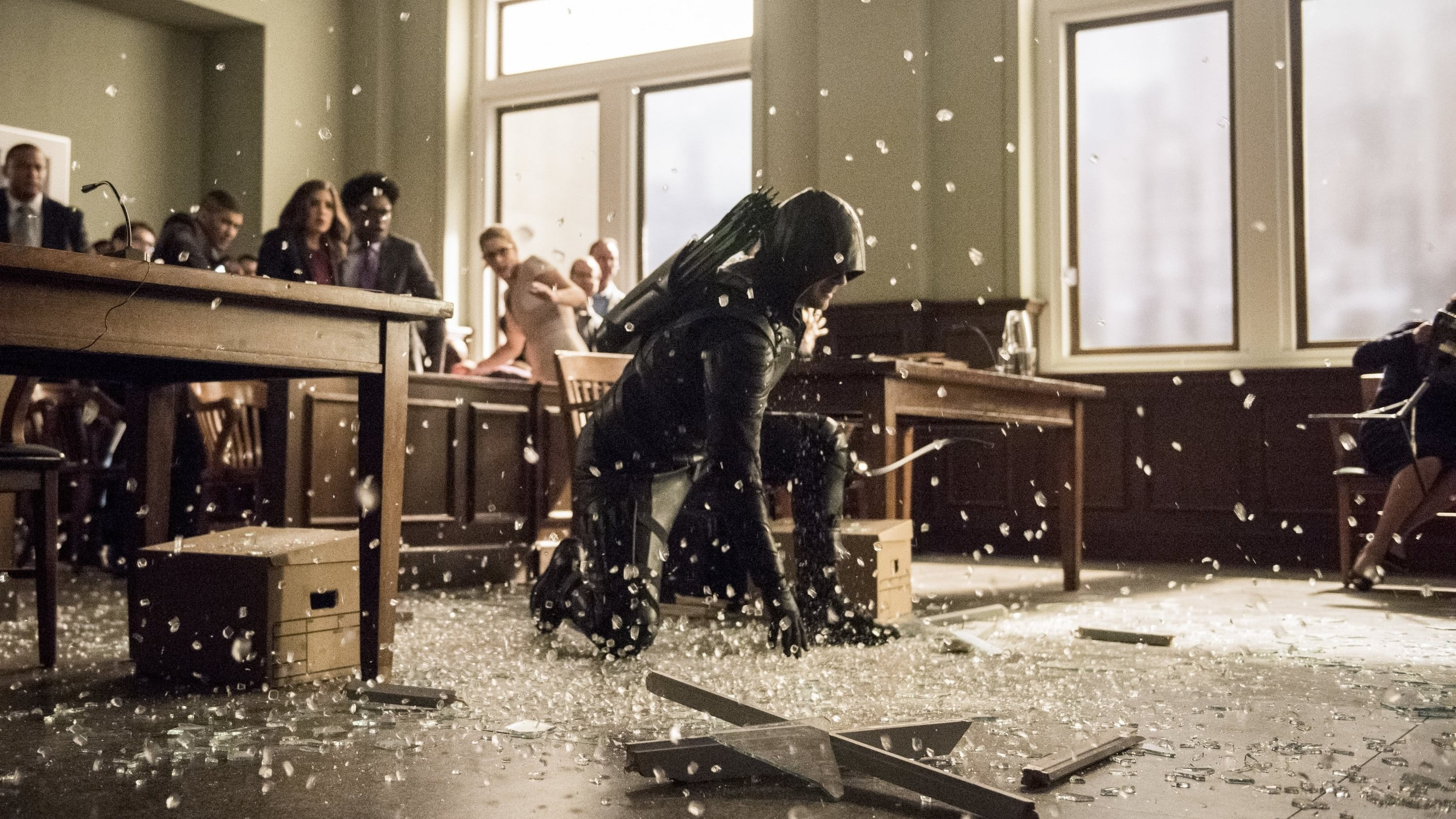 Arrow Season 6 :Episode 21  Docket No. 11-19-41-73