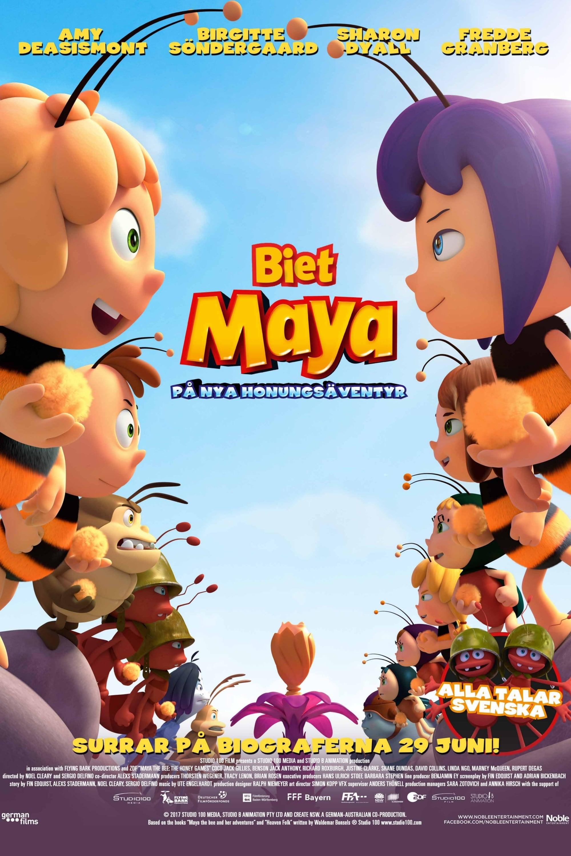 玛雅蜜糖历险记2:公园游戏绣球蜜蜂石狮子图片