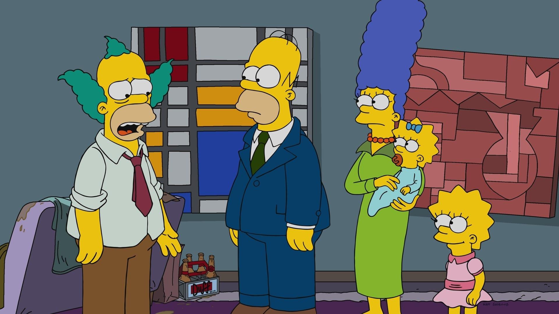 Die Simpsons Season 29 :Episode 14  Krusty macht ernst