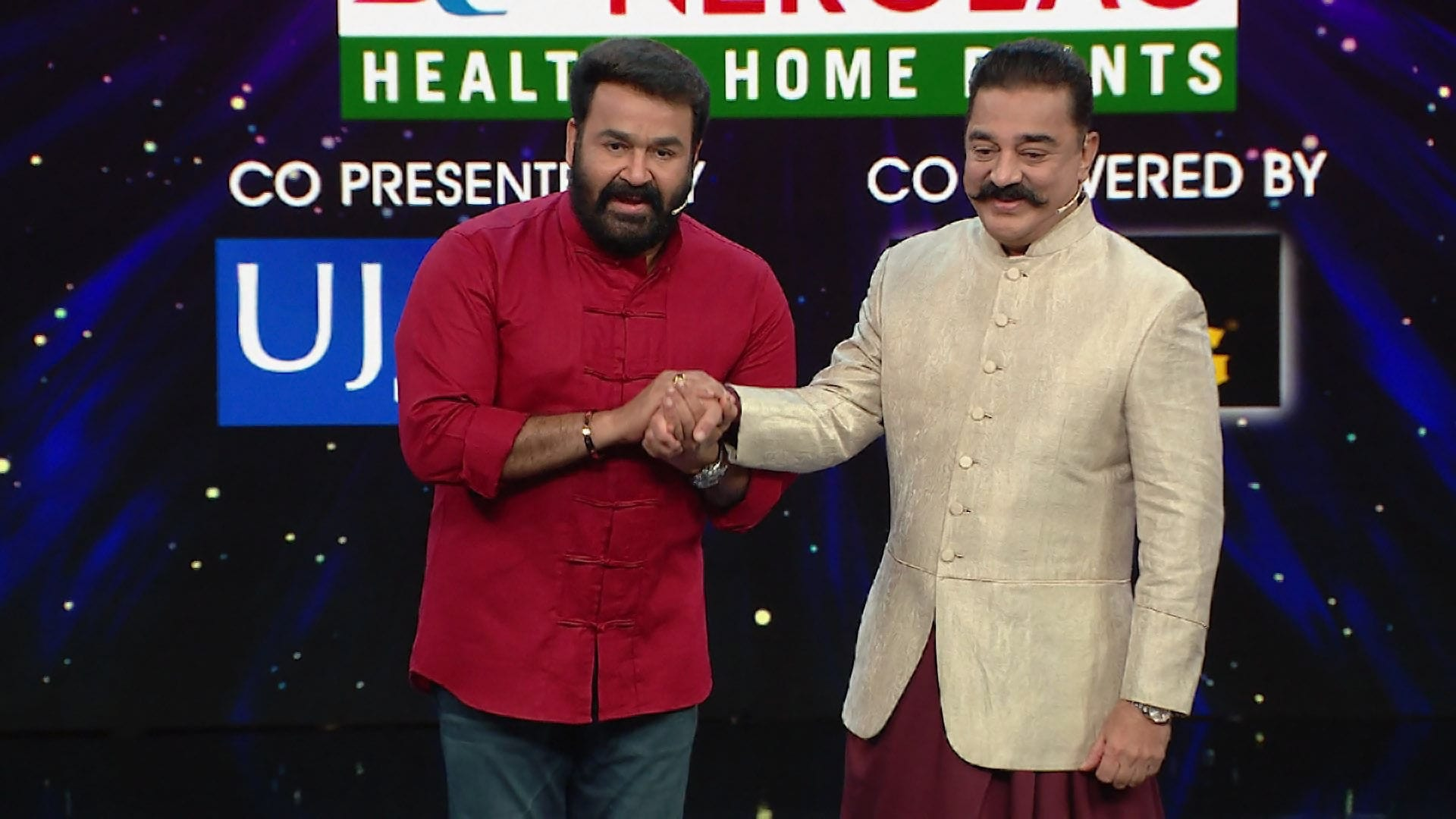 Bigg Boss - Season 1 Episode 49 : Day 48: Ulaganayagan Meets Mohanlal!