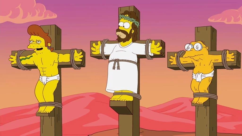The Simpsons Season 23 :Episode 21  Ned 'n' Edna's Blend