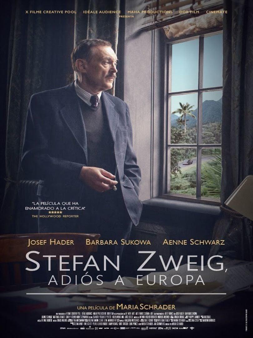 Póster Stefan Zweig, adiós a Europa