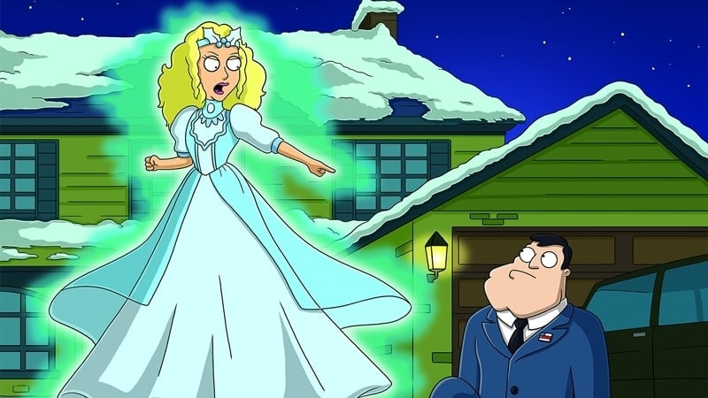 American Dad! Season 3 :Episode 9  The Best Christmas Story Never Told
