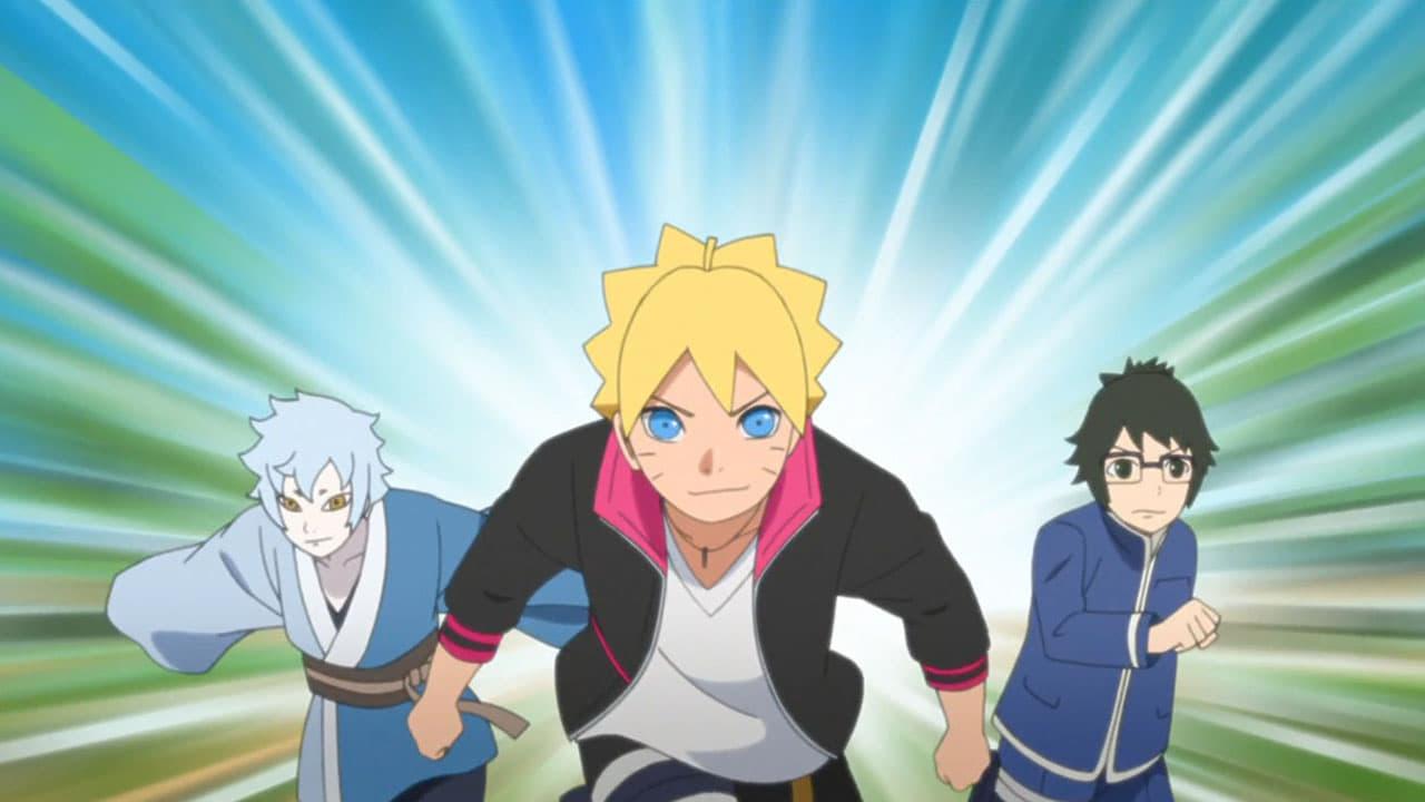 Boruto: Naruto Next Generations Season 1 :Episode 12  Boruto and Mitsuki