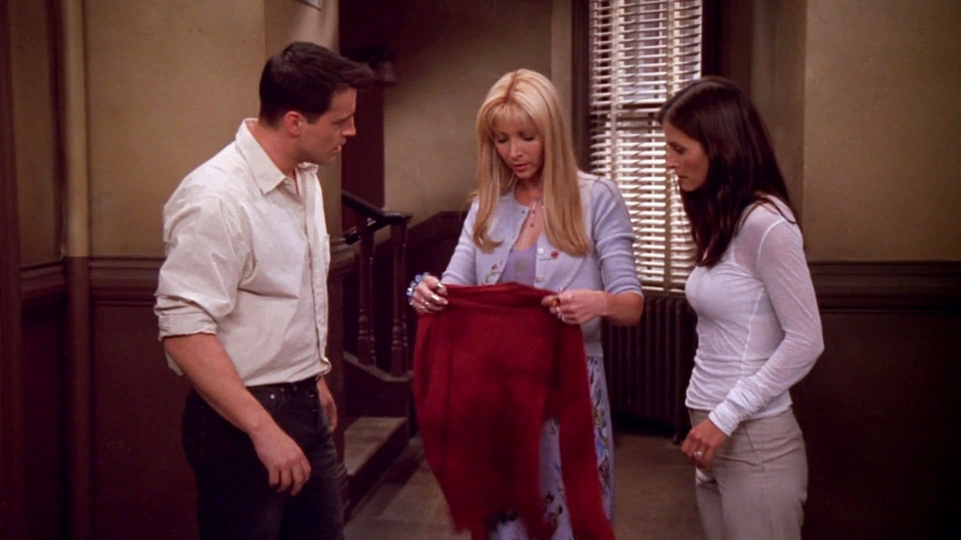 Friends Season 8 :Episode 2  The One with the Red Sweater
