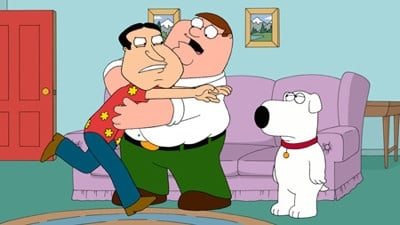 Family Guy Season 9 :Episode 14  Tiegs for Two