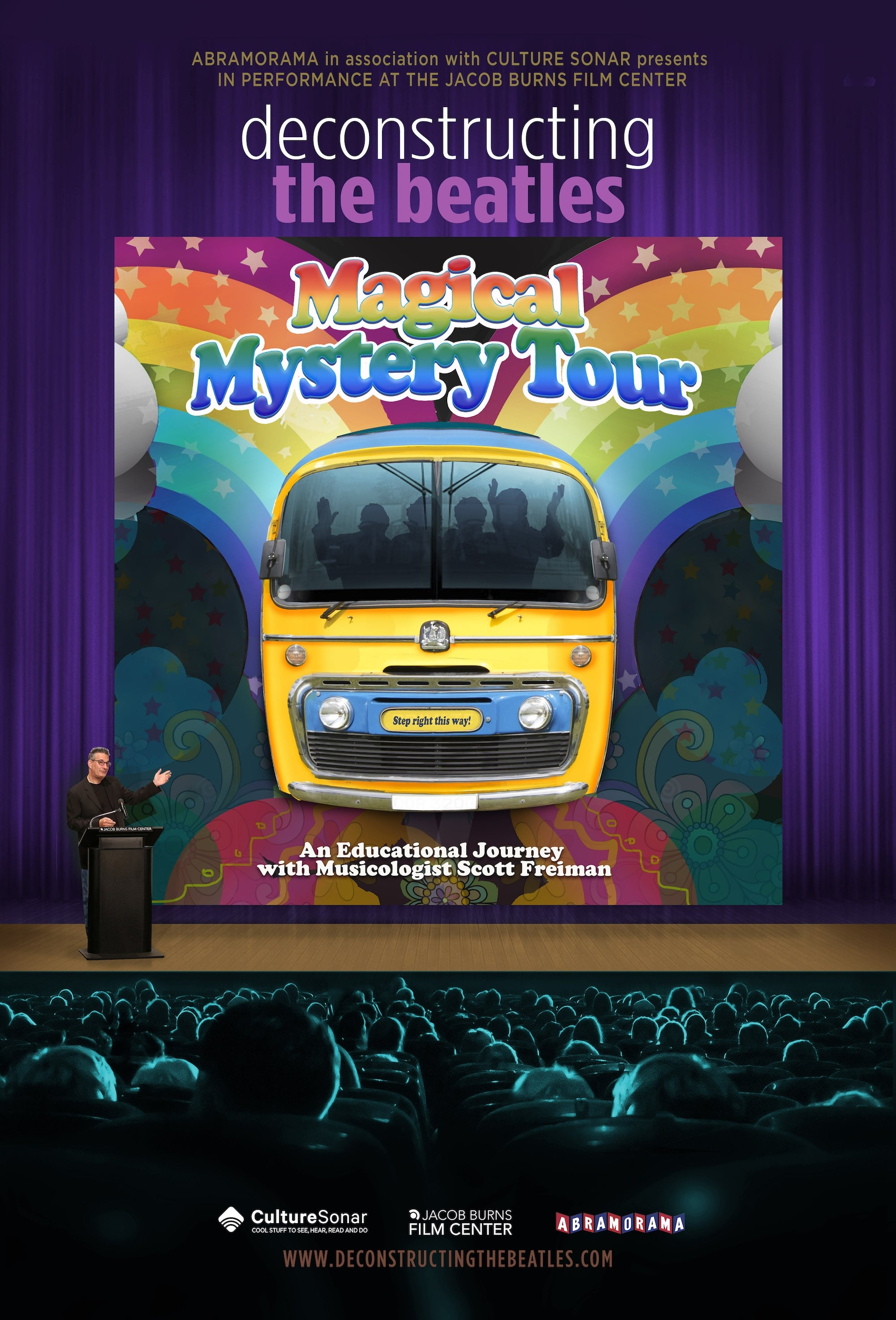 Deconstructing The Beatles Magical Mystery Tour