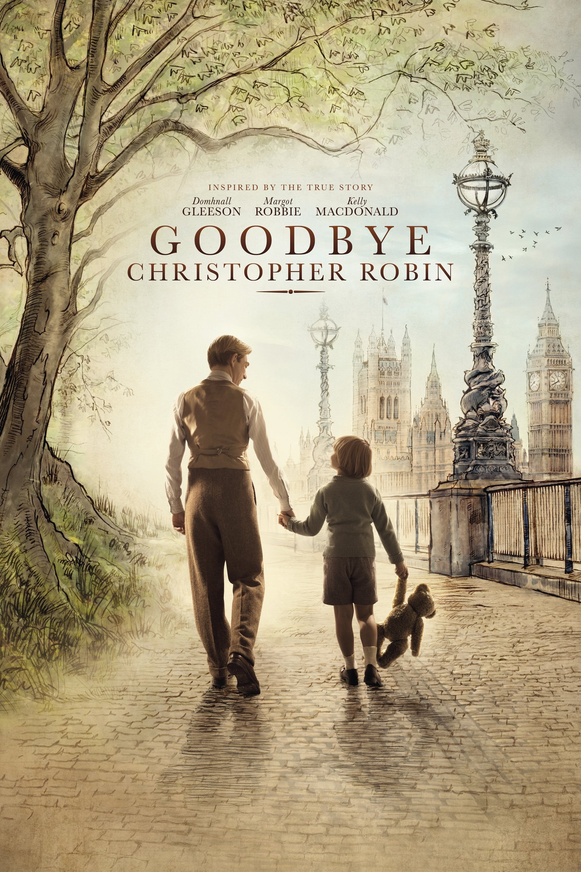Póster Goodbye Christopher Robin