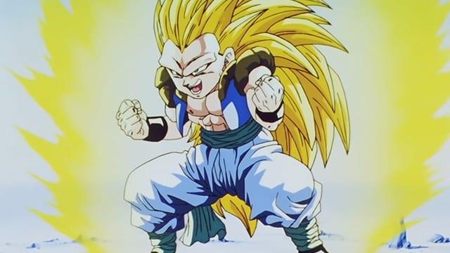 Dragon Ball Z Kai Season 6 :Episode 6  The Reserved Transformation of Gotenks! Super Gotenks 3!!