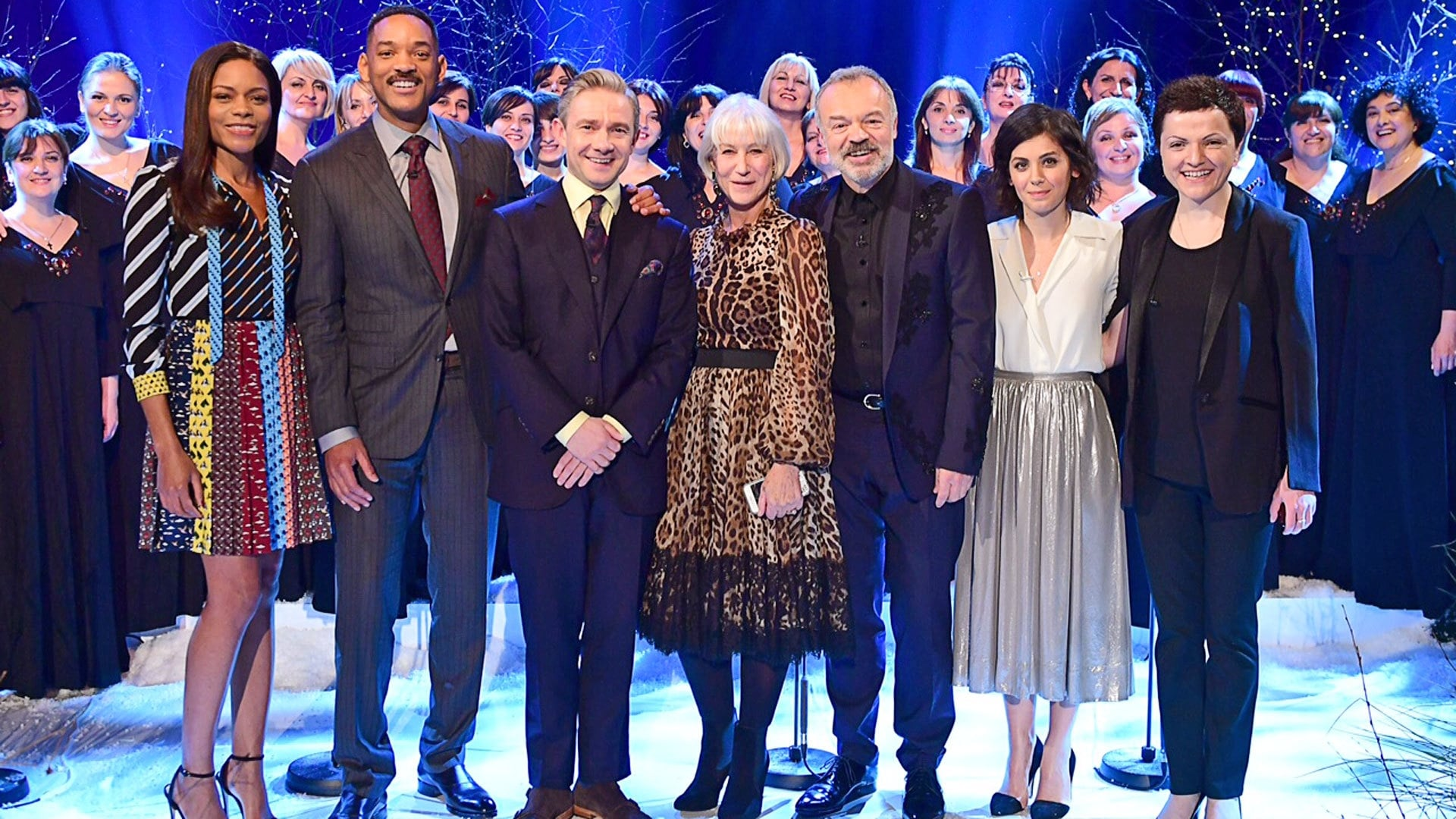 The Graham Norton Show Season 20 :Episode 12  Will Smith, Dame Helen Mirren, Naomie Harris, Martin Freeman, Katie Melua
