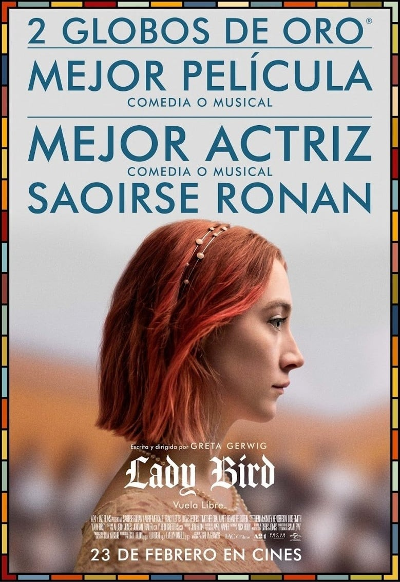 Póster Lady Bird