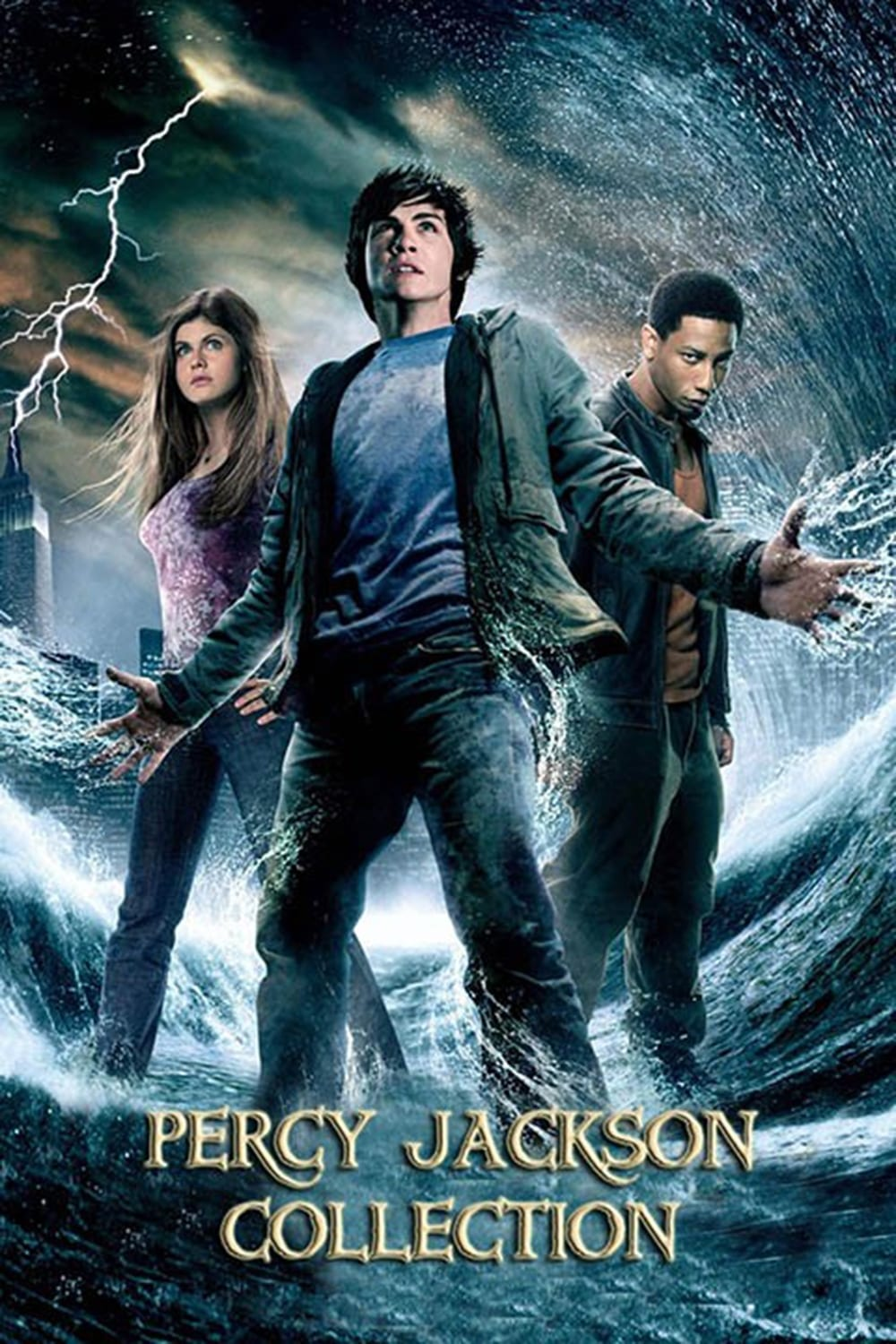 all movies from percy jackson collection saga are on