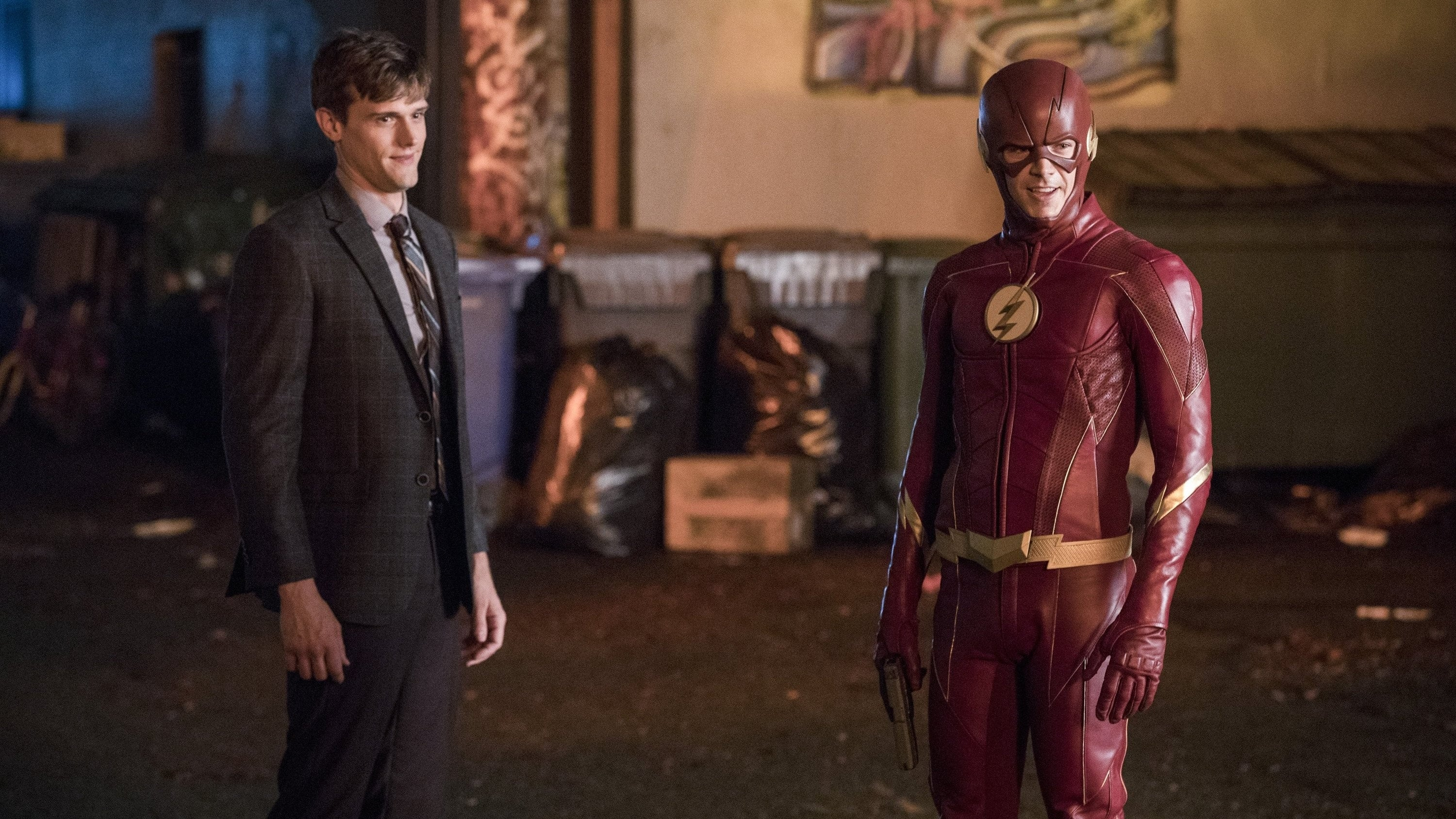 The Flash Season 4 :Episode 4  Elongated Journey Into Night