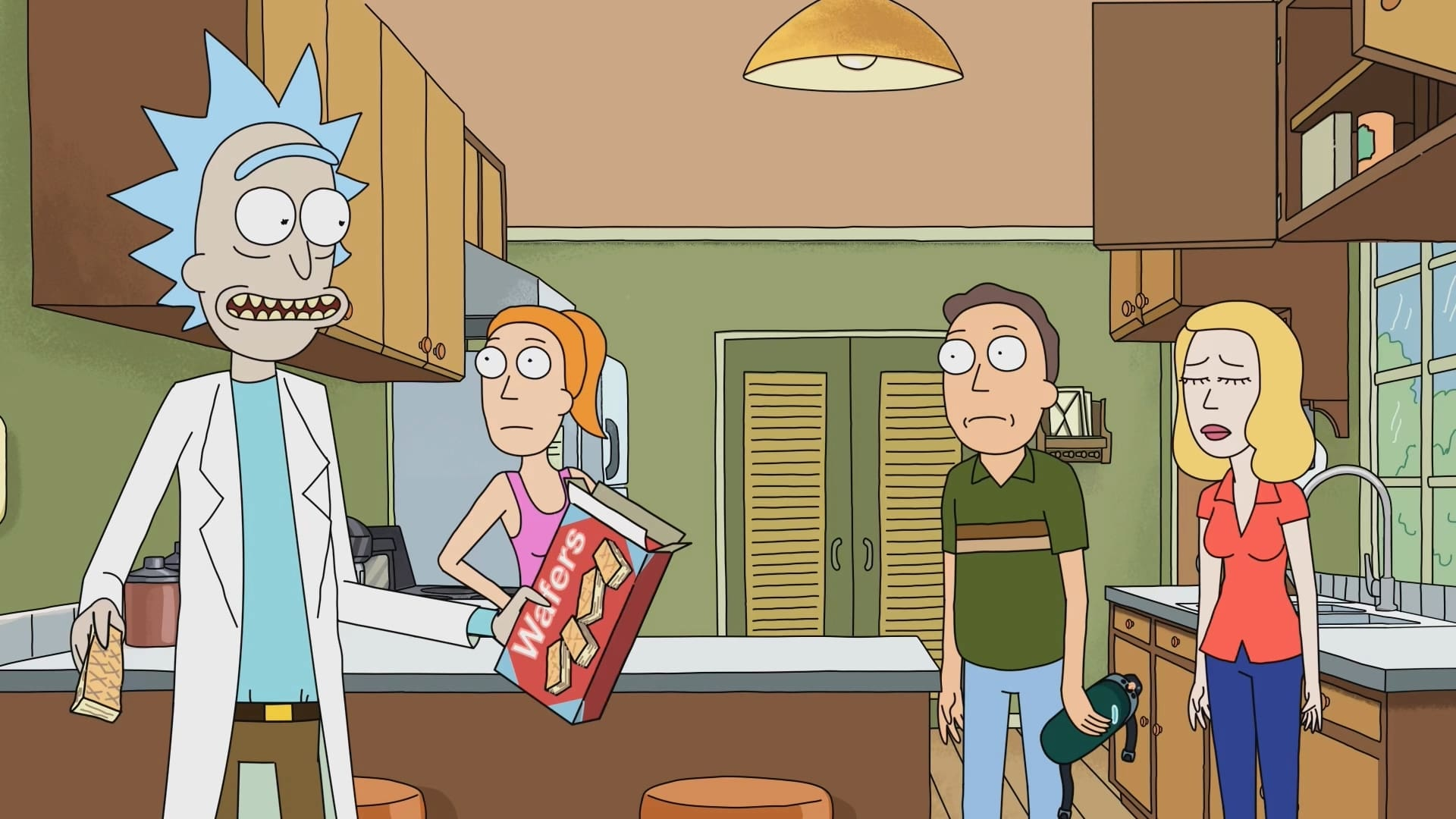 Rick and Morty Season 1 :Episode 8  Rixty Minutes