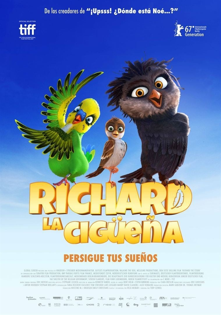 Póster Richard, la cigüeña
