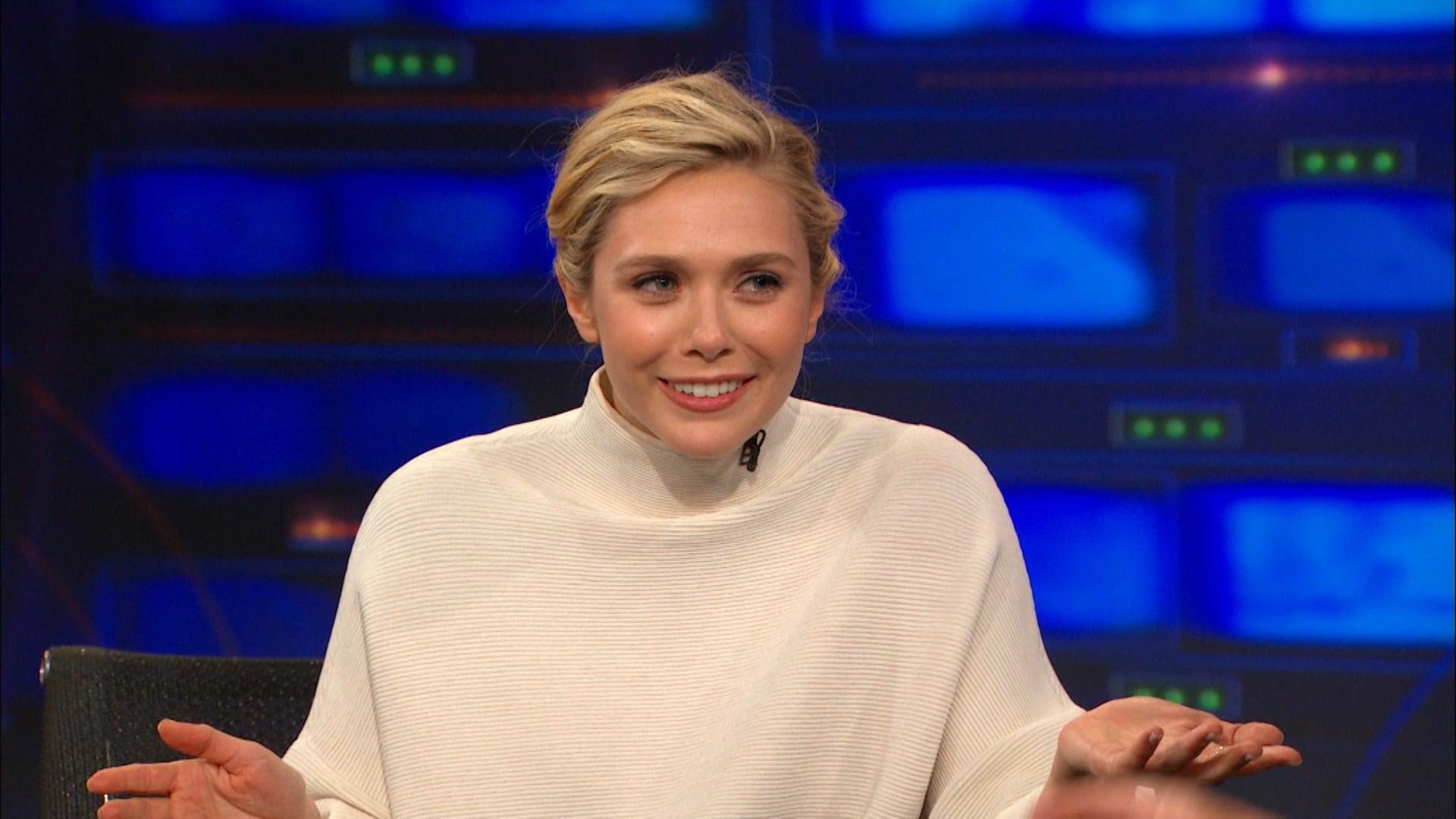 The Daily Show with Trevor Noah Season 20 :Episode 96  Elizabeth Olsen