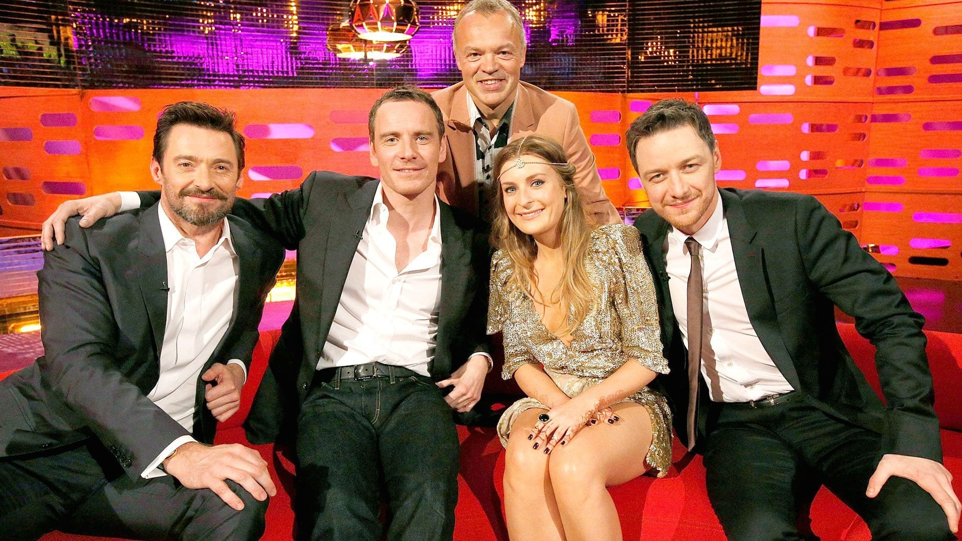 The Graham Norton Show Season 15 :Episode 5  Hugh Jackman, Michael Fassbender, James McAvoy, Molly