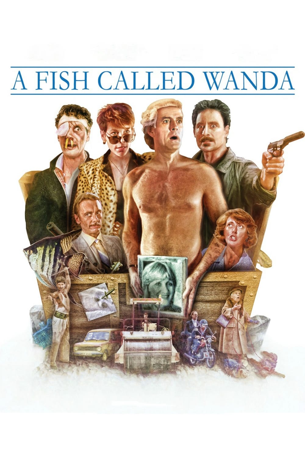 Watch a fish called wanda trailer for free download a for A fish called wanda cast