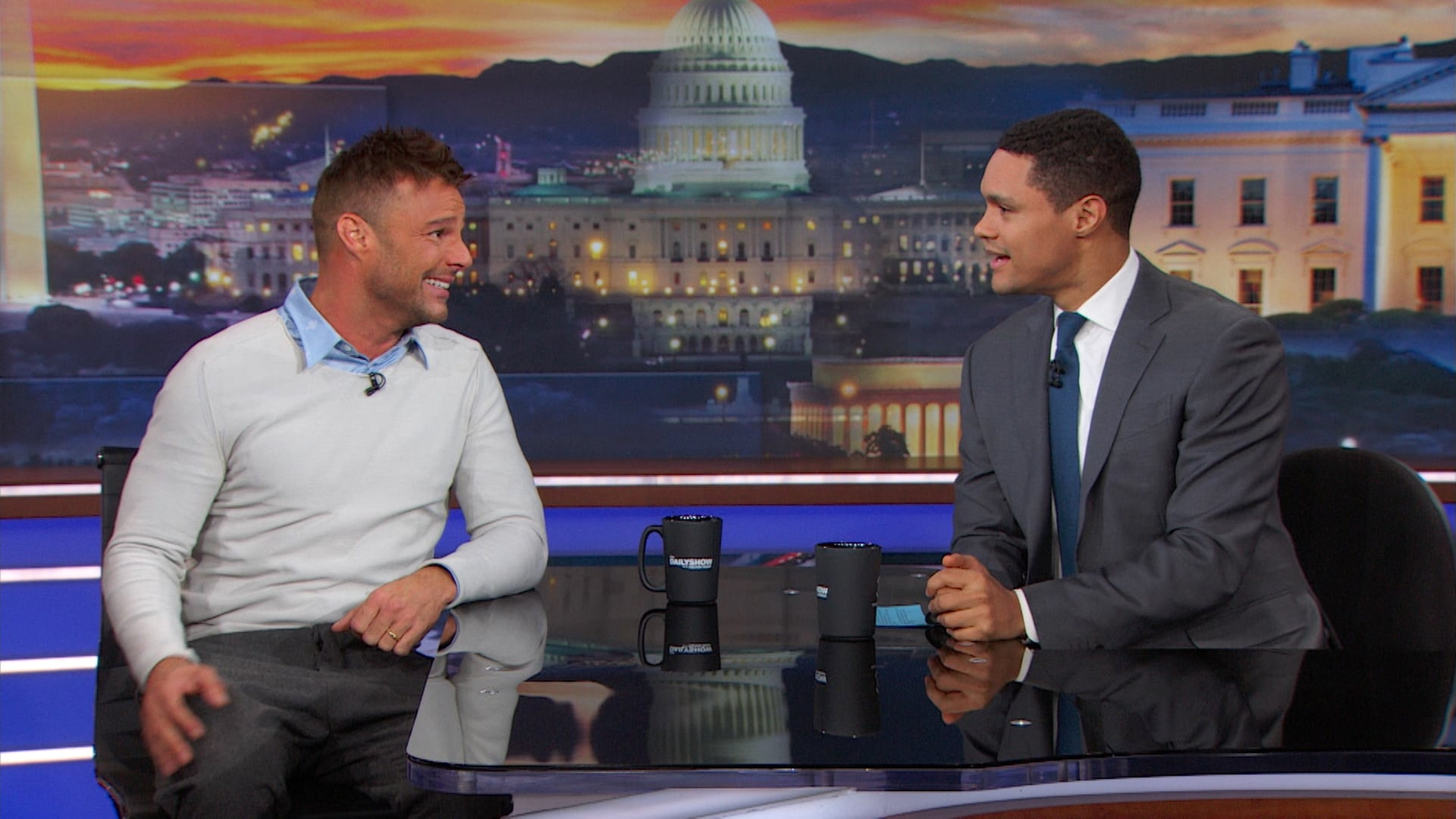 The Daily Show with Trevor Noah Season 23 :Episode 45  Ricky Martin