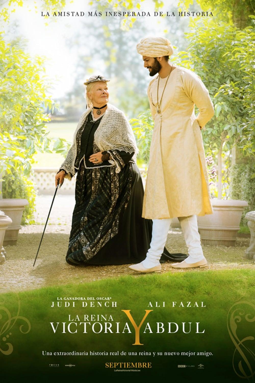 Póster La Reina Victoria y Abdul