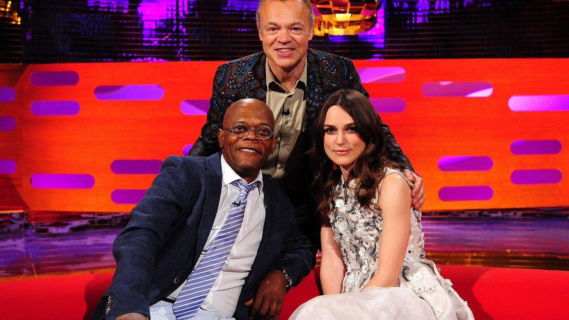 The Graham Norton Show Season 15 :Episode 11  Samuel L Jackson, Keira Knightley, Jenson Button
