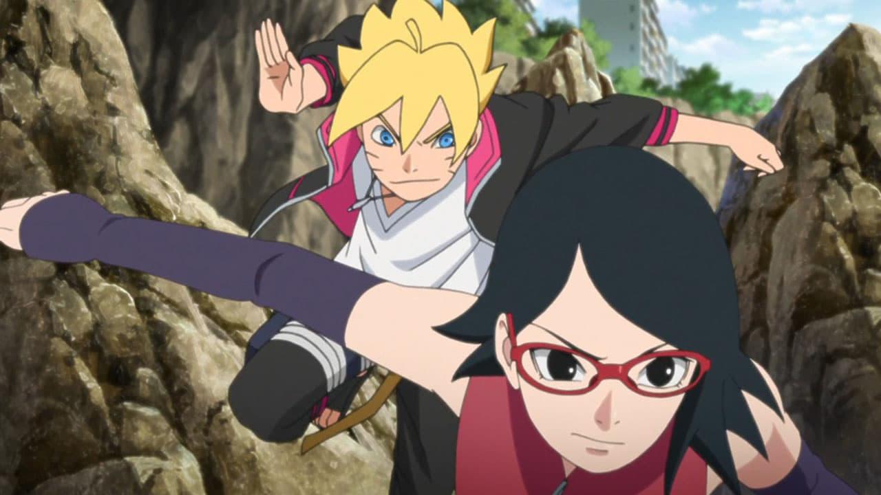 Boruto: Naruto Next Generations Season 1 :Episode 24  Boruto and Sarada