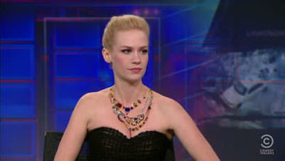 The Daily Show with Trevor Noah Season 16 :Episode 22  January Jones