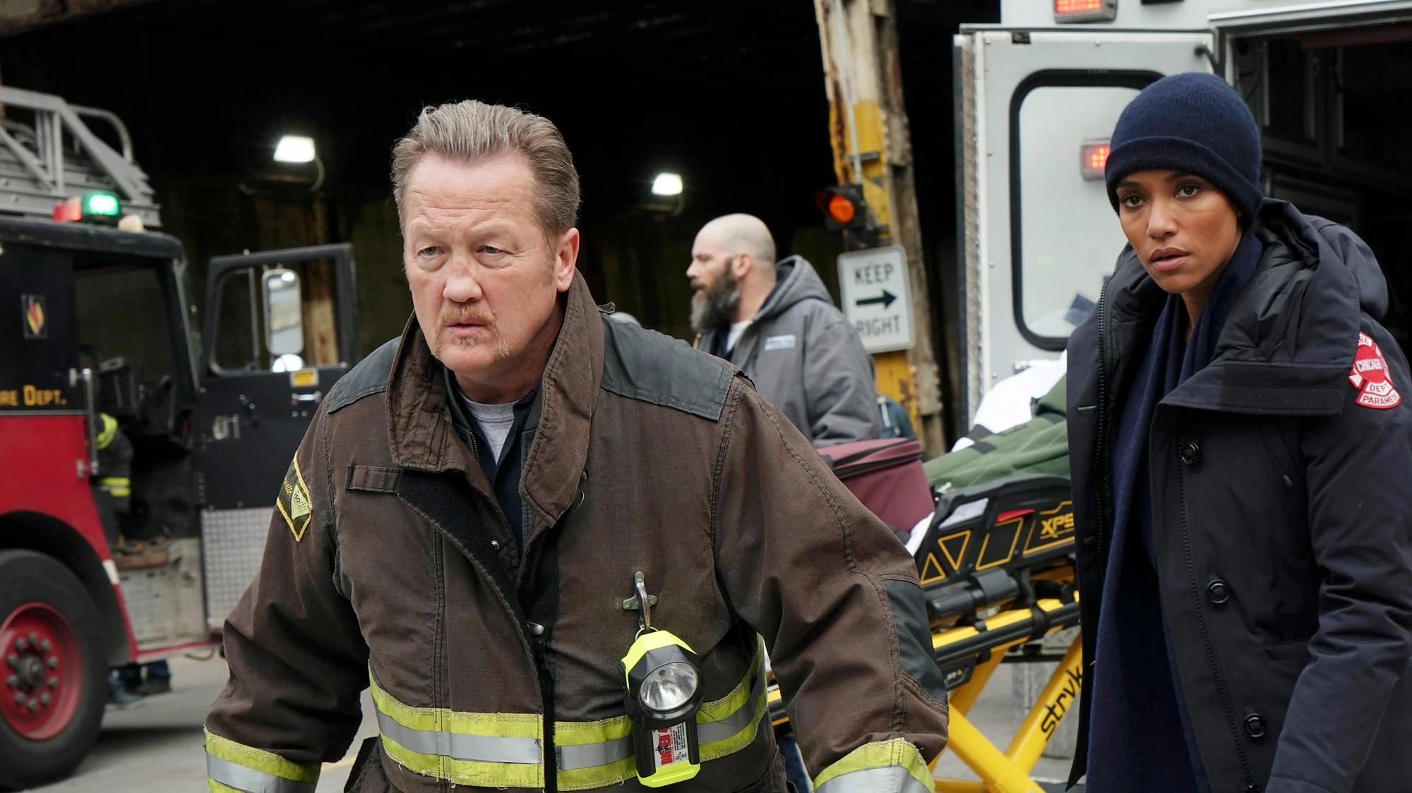 Chicago Fire Season 7 :Episode 10  Rettungsleine