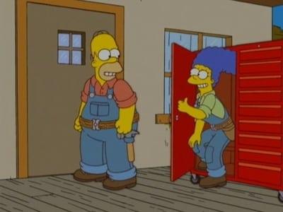 The Simpsons Season 18 :Episode 3  Please Homer, Don't Hammer 'Em...