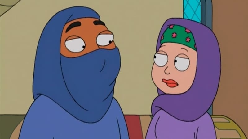 American Dad! Season 2 :Episode 5  Stan of Arabia (1)