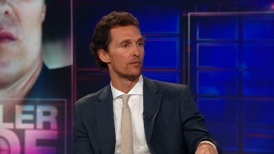 Season 17 :Episode 128  Matthew McConaughey