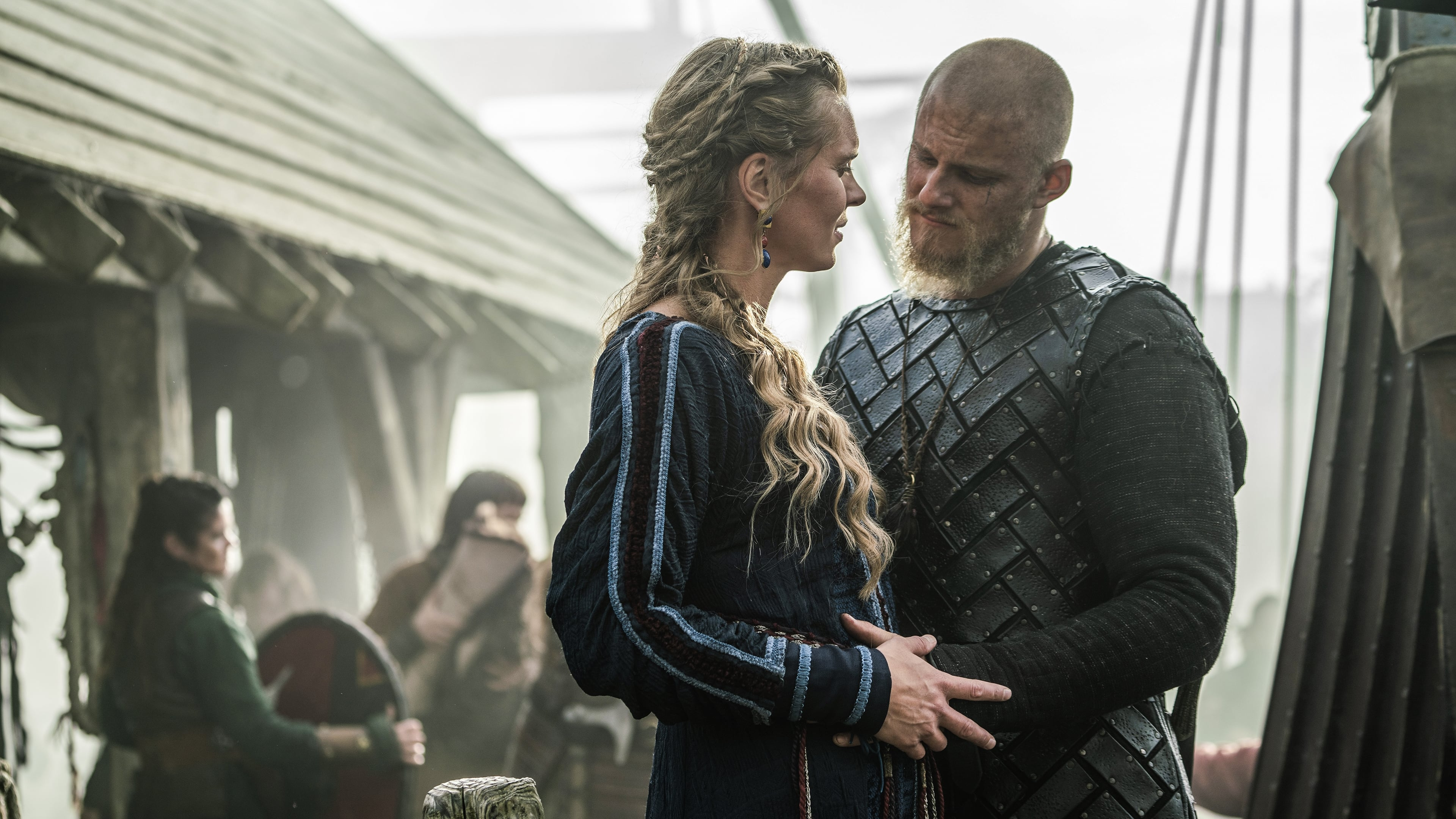 Vikings Season 6 :Episode 3  Ghosts, Gods, and Running Dogs