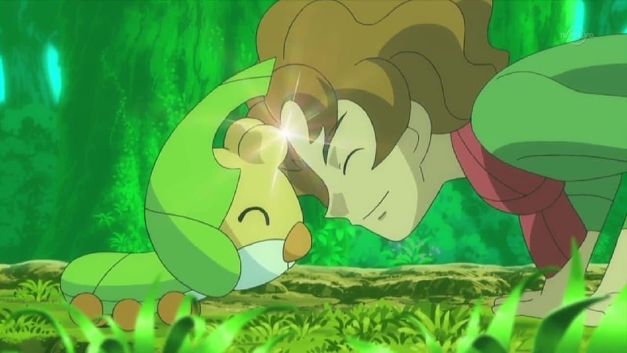 Pokémon Season 14 :Episode 18  Sewaddle and Burgh in Pinwheel Forest!
