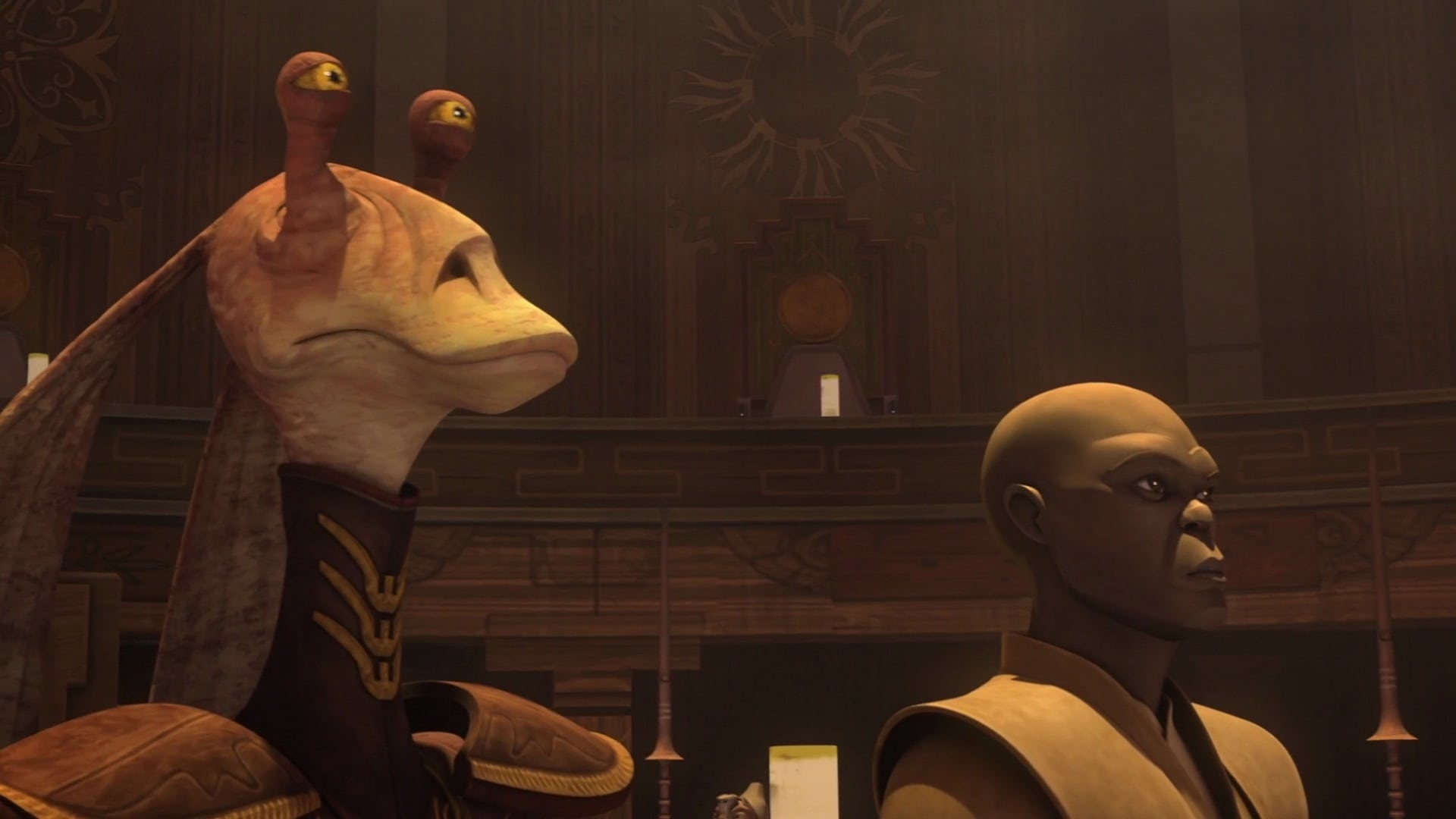 Star Wars: The Clone Wars - Season 6 Episode 8 : The Disappeared, Part I