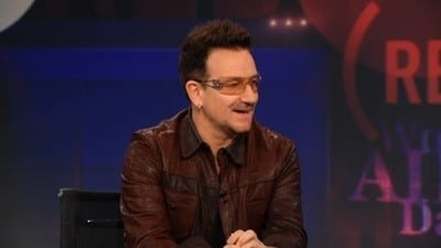 The Daily Show with Trevor Noah Season 17 :Episode 27  Bono