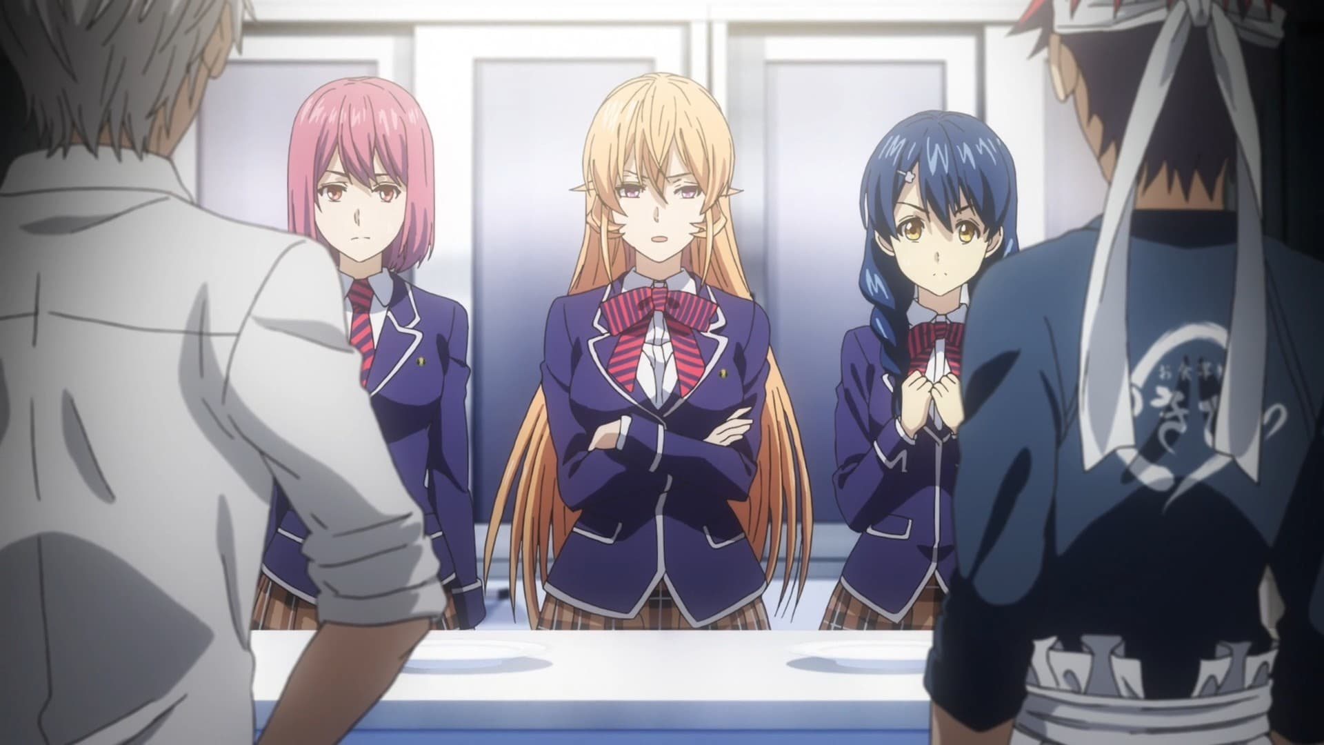 Food Wars! Season 3 :Episode 12  The One Who Aims for the Summit