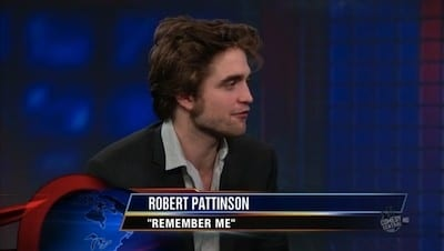 The Daily Show with Trevor Noah Season 15 :Episode 30  Robert Pattinson
