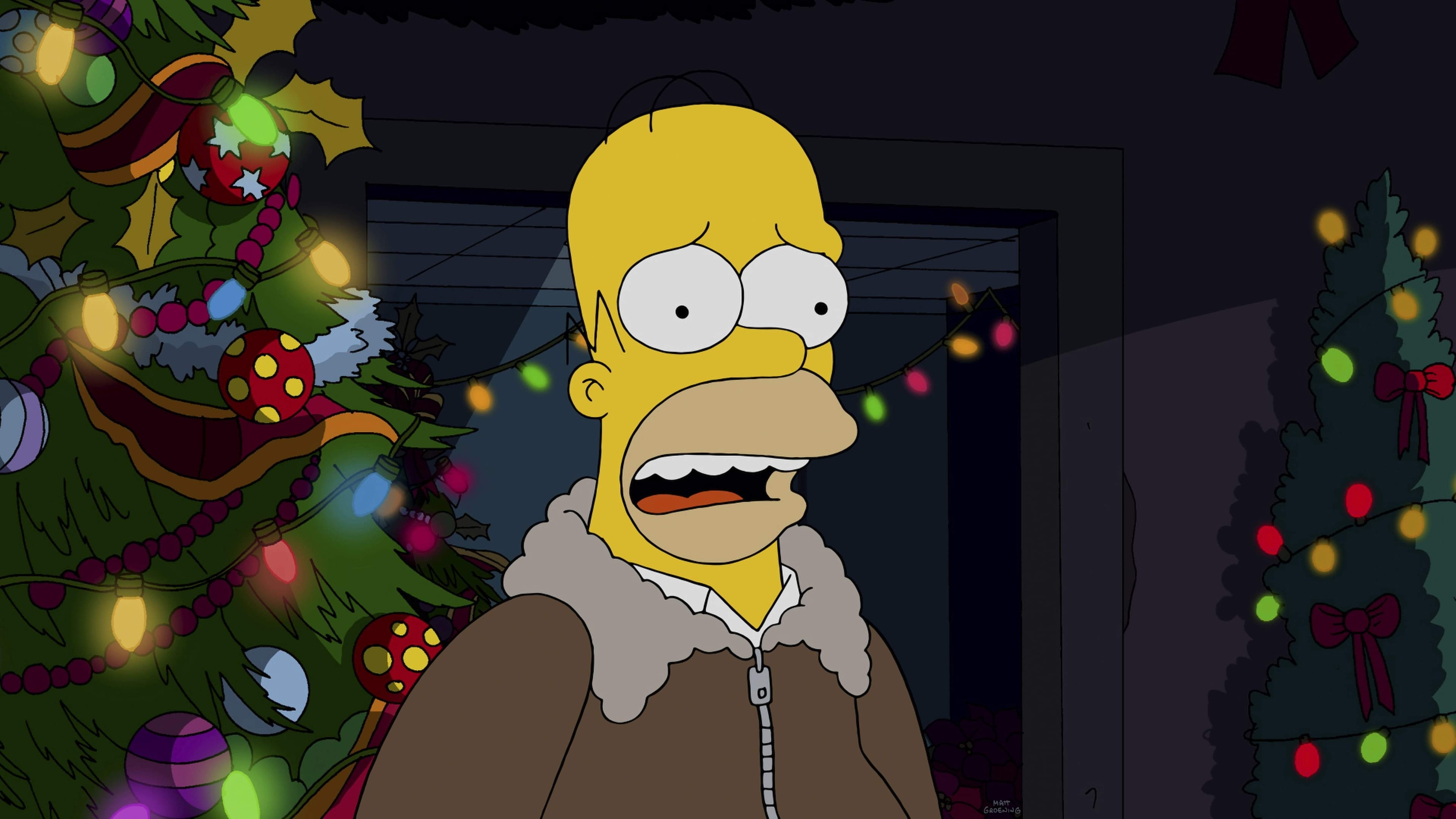 The Simpsons - Season 26 Episode 9 : I Won't Be Home for Christmas